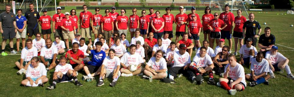 United's Day With Special Olympic Athletes