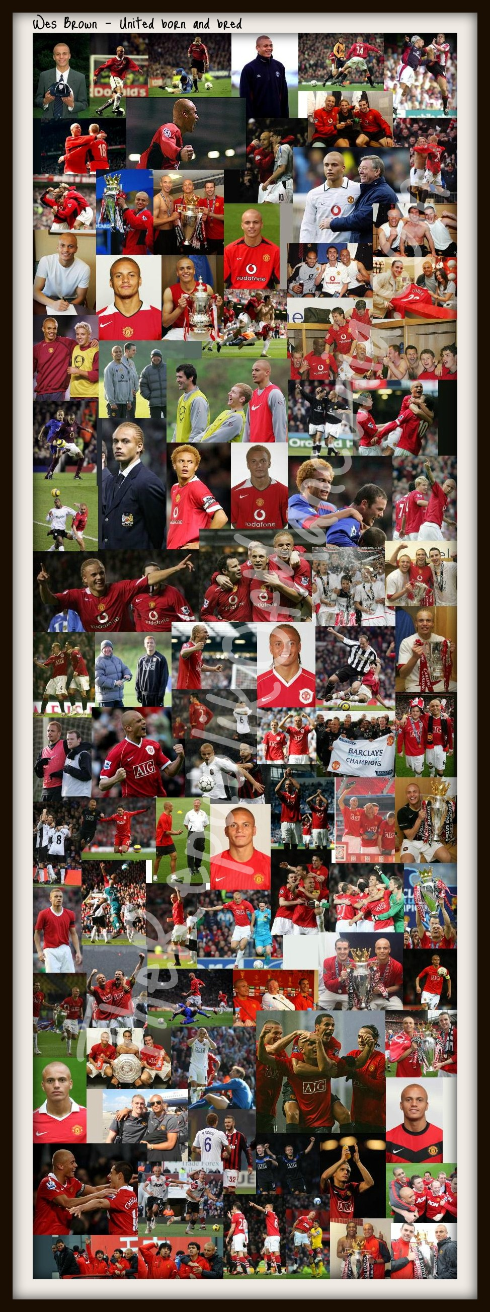 PICTURES: Wes Brown's United Career