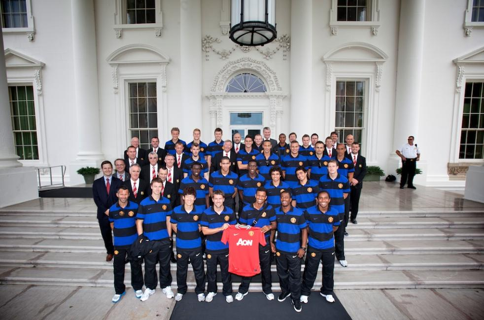 PICTURE: United At The White House
