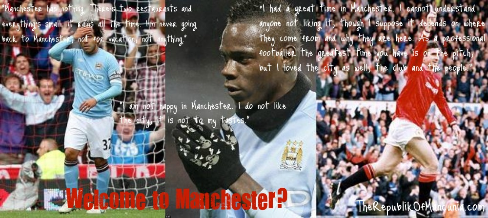 PICTURE: Cantona Shows Up Balotelli And Tevez