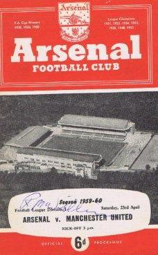 When Arsenal beat Manchester United 5-2 in 1960, was the match 'fixed'?