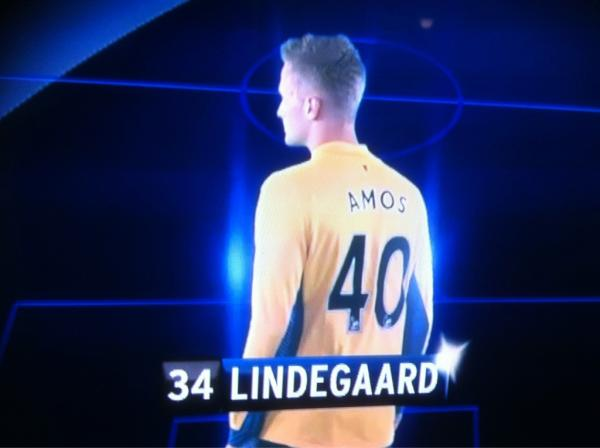 PICTURE: Lindegaard In Wrong Shirt On Sky Sports