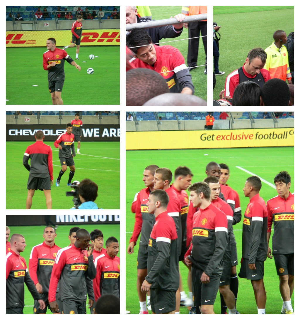 Open Training Session In Durban
