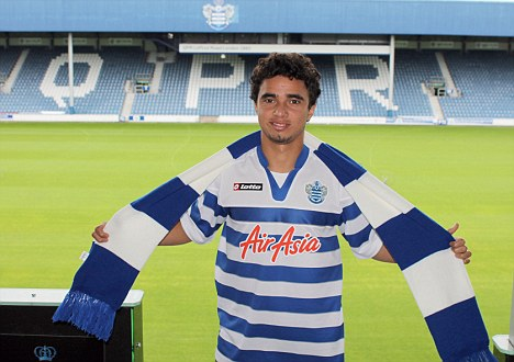 PICTURE: Fabio In QPR Shirt