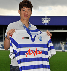 PICTURE: Park's QPR Move Finally Confirmed