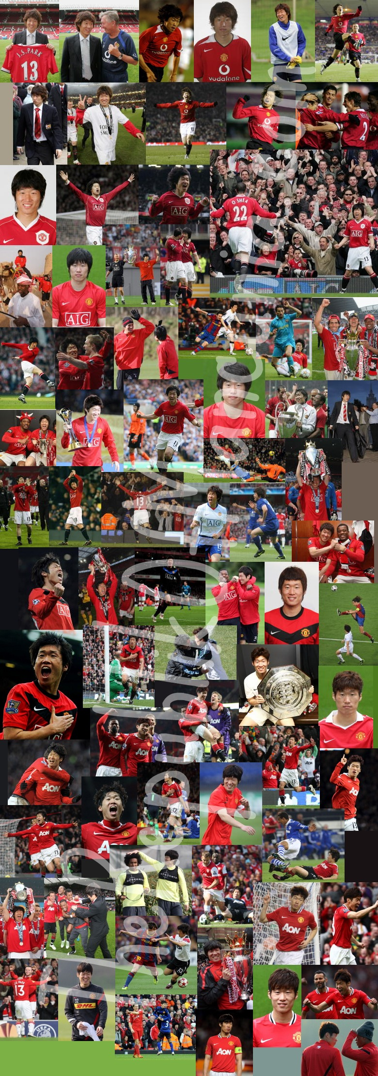 PICTURES: Park's Career In Full