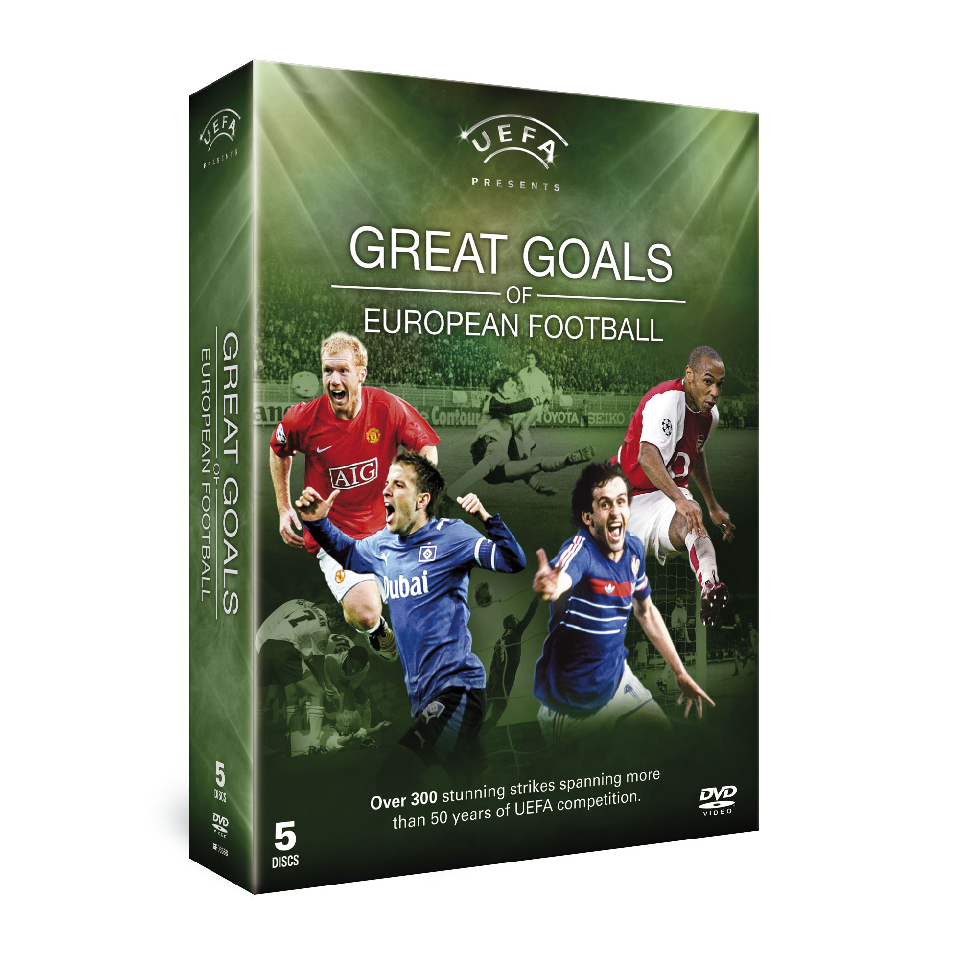 COMPETITION: UEFA Great Goals & UEFA Great Matches