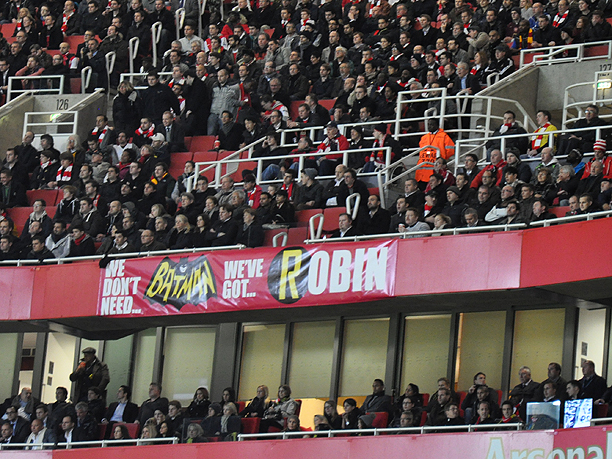 Want To Be There To See RvP Face Arsenal For The First Time?