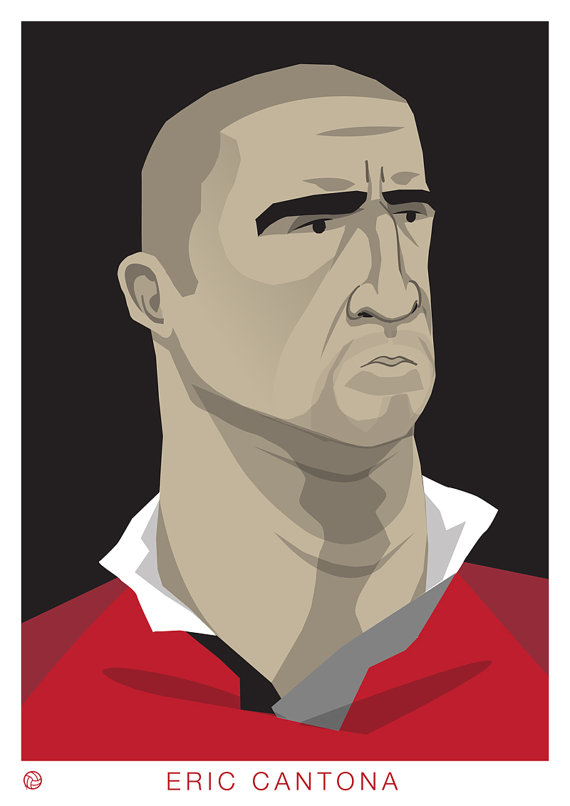 COMPETITION: Eric Cantona print