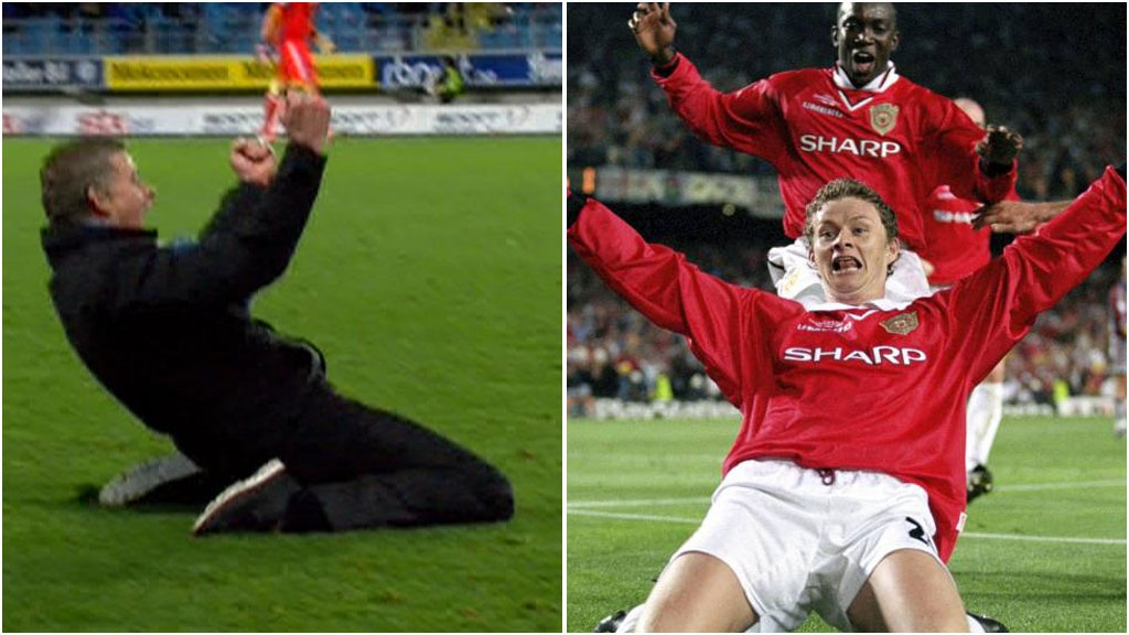 VIDEO: Ole Recreates 99 Celebration After Closing In On League