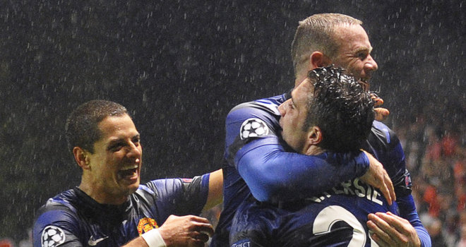 Rooney: RvP And Chicharito Are Great