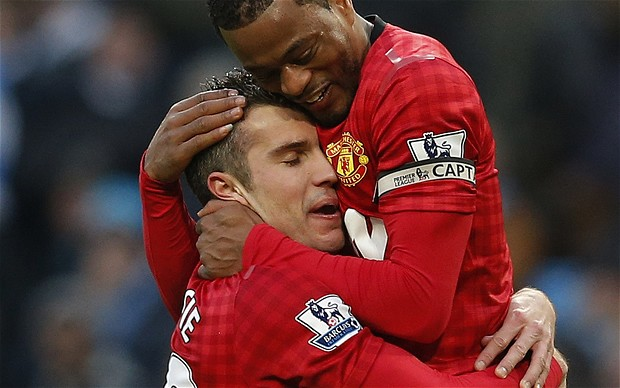 Evra: Van Persie Is Perfect For United