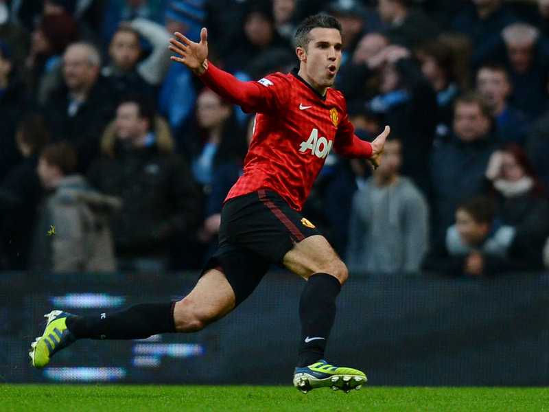 Van Gaal: RvP Getting Better Since Leaving Arsenal For United