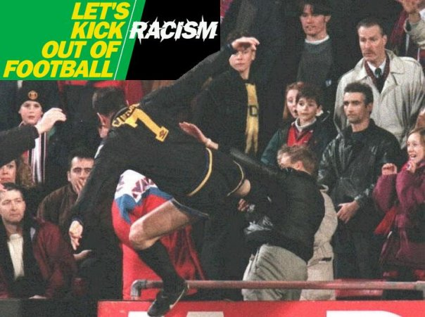 When Cantona Kicked That Racist… 18 Years Later