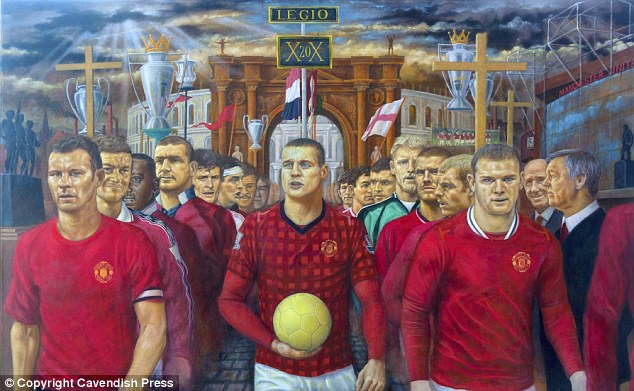 PICTURE: Painting Of United Players Past And Present