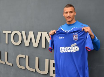 PICTURE: Reece Brown Seals Ipswich Loan Move