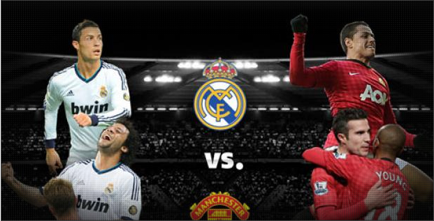 Win two tickets to Manchester United v Real Madrid