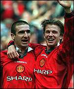 """Beckham was desperate for #7 shirt after Cantona"""