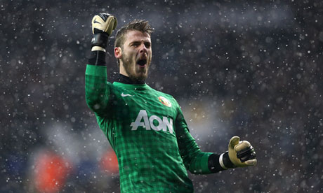 De Gea: Barca? I Want To Stay In Manchester