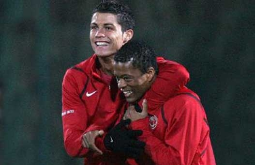 Evra: Ronaldo Still Loves United