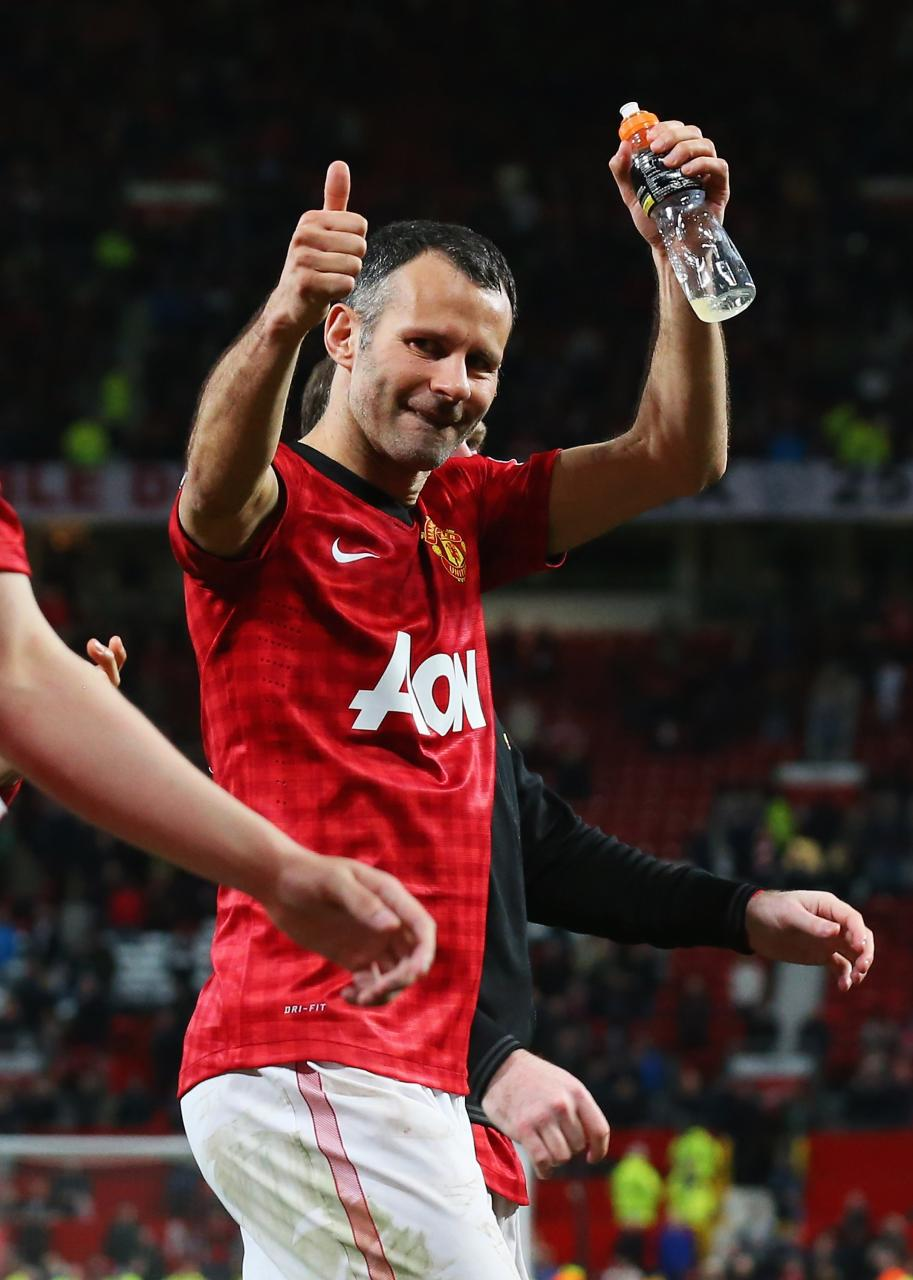 Giggs: I'm lucky to have played for Fergie for so long