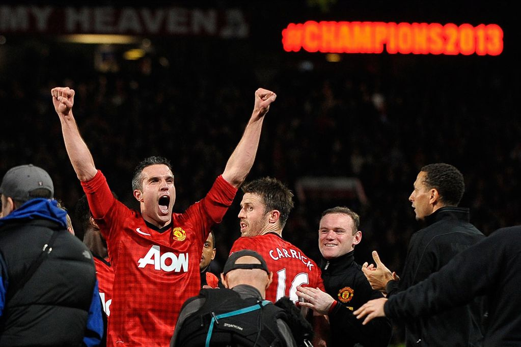 Van Persie: Being champions is standard for United