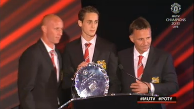 Manchester United's Reserve Team Player of the Year is…