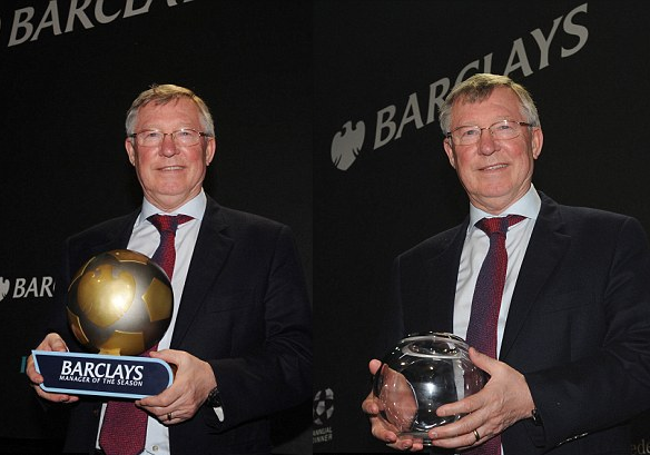 PICTURE: Fergie with latest awards