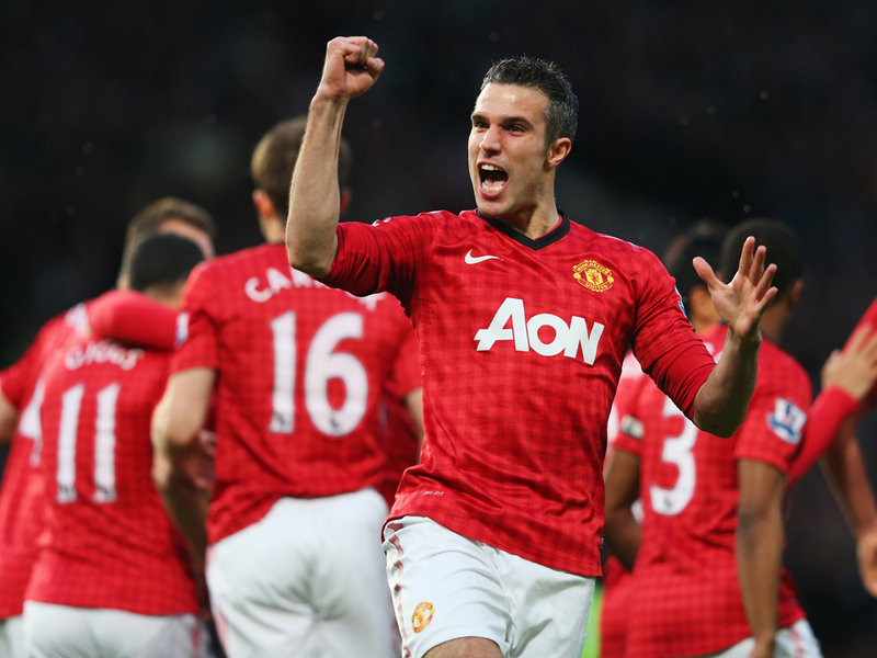 Van Persie: Being a champion is even better than I thought