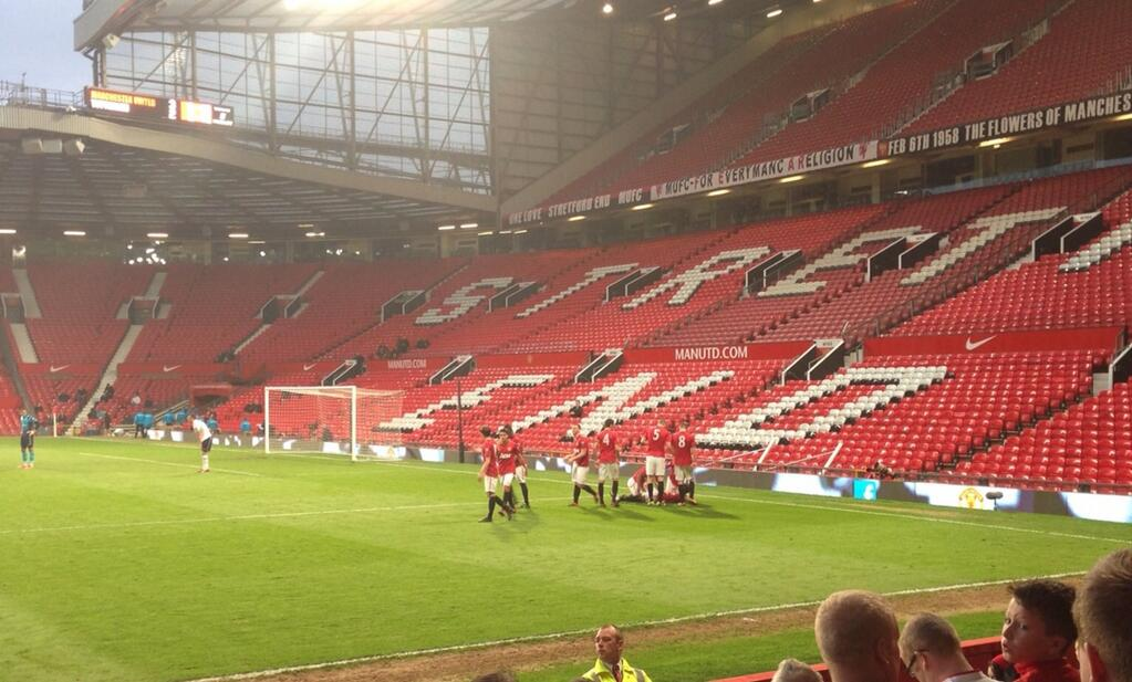 PICTURES: United win U-21s league