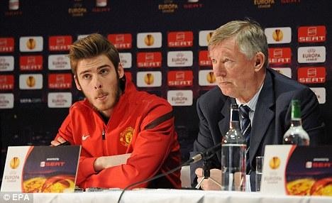 De Gea: I'm very grateful to United for trusting in me