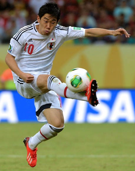 Kagawa's Display in the Confederations Cup