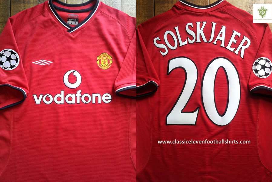COMPETITION: Win a 00/01 Solskjaer shirt