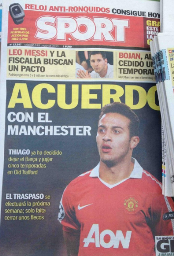 5 Year Thiago Deal Agreed… according to Spanish press