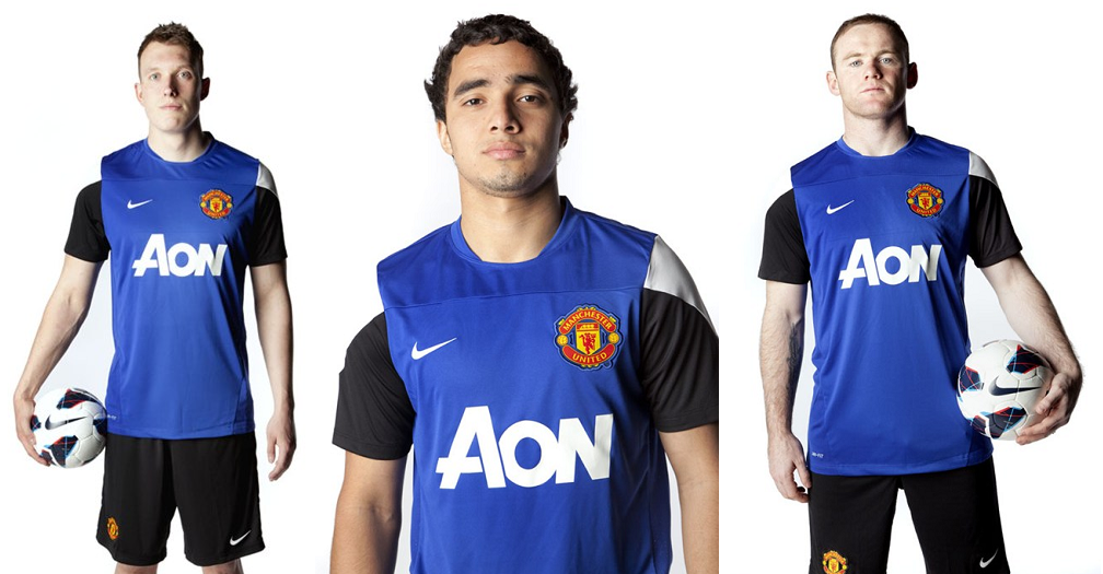 official photos 2a4b7 3e965 PICTURE: New Manchester United training kit