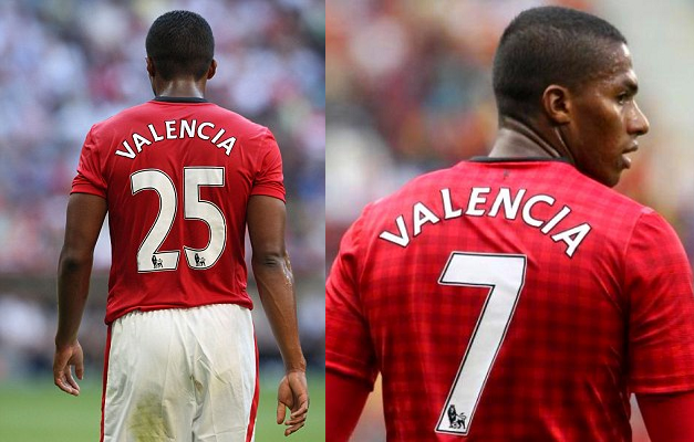 Valencia gives up #7 shirt
