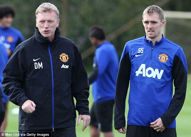 PICTURE: Fletcher back in training