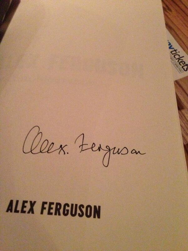 What happened at An Evening With Sir Alex Ferguson?