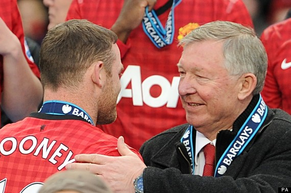 Fergie: I never fell out with Rooney