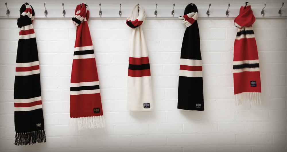 COMPETITION: Win a Savile Rogue bar scarf