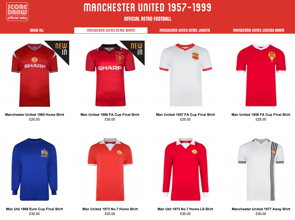 COMPETITION: Win a retro Manchester United shirt