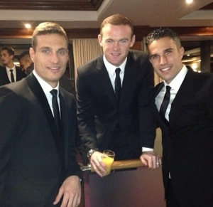 PICTURES: United players at UNICEF dinner