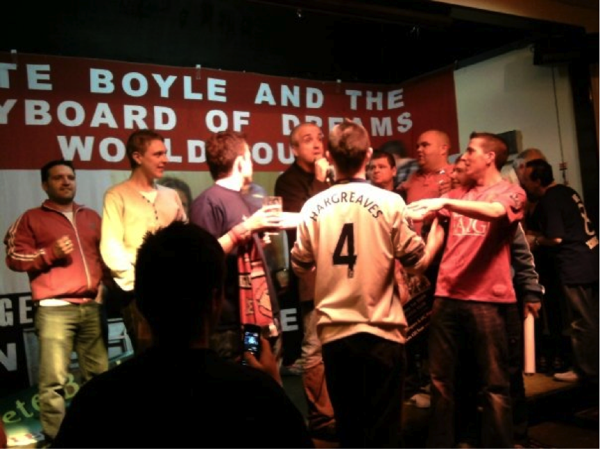 Part II: Pete Boyle on United's original chants, YNWA and copying songs