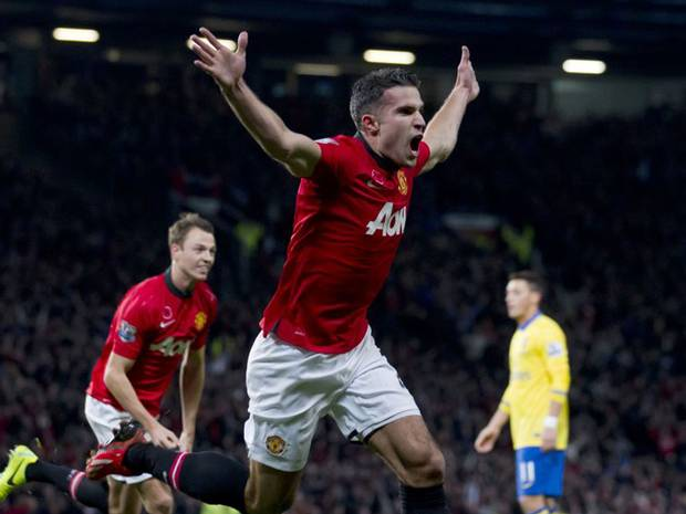 Was Van Persie wrong to celebrate after Arsenal goal?