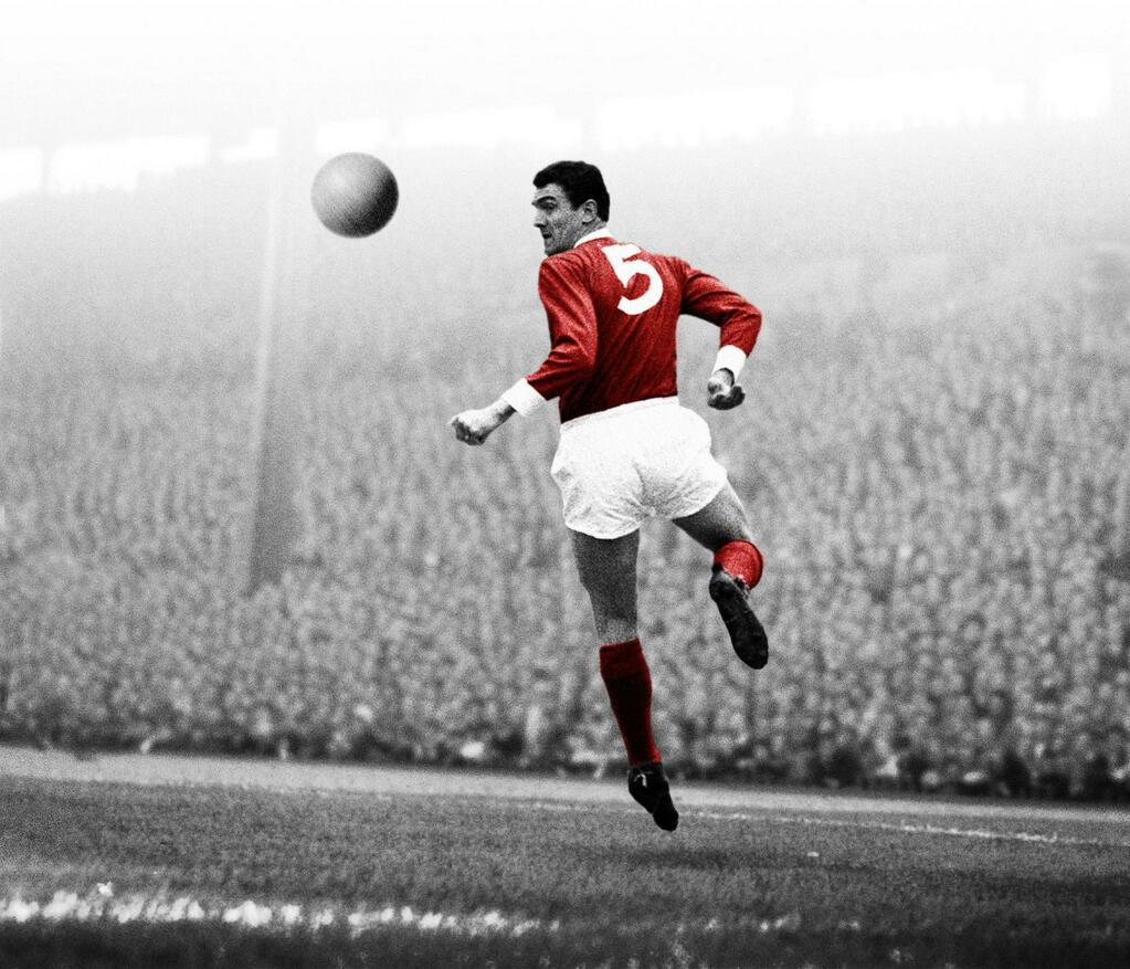 PICTURE: Bill Foulkes flag