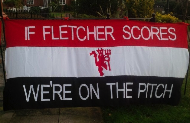 PICTURE: New banner for Fletcher