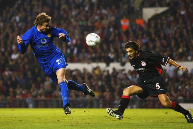 United vs Olympiakos – October 1st 2002