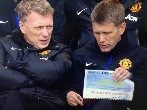 The picture that got Moyes sacked?