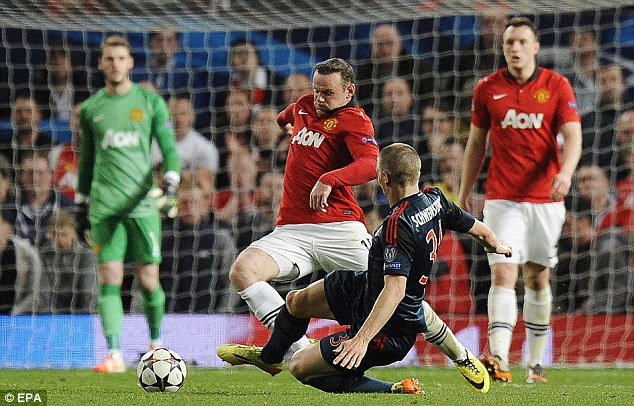 PICTURE: What did Guardiola want Rooney to do?