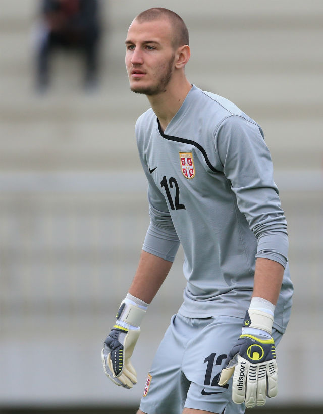 United sign Serbian goalie